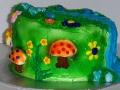 Fondant Waterfall Cake 2