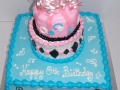 Birthday Present Tiered Cake 1