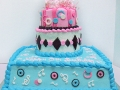 Birthday Present Tiered Cake 2