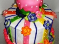 Tiered Floral Cake