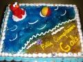Elmo Beach Cake