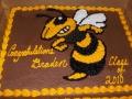 Sheet T L Hanna Cake
