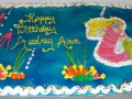 Sheet cake Mermaid Sea Cake