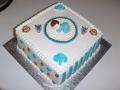 Baby Boy Square Cake