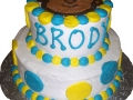 Monkey Boy Tiered Cake 1