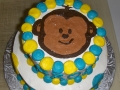 Monkey Boy Tiered Cake 2