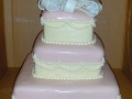 Pretty Bow Tiered Cake