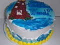 Lighthouse Ocean Cake