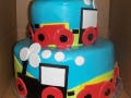 Choo Choo Train Tiered Cake