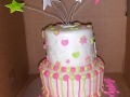 Stars Tiered Cake