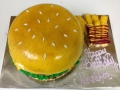 Hamburger Cake 1