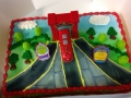 Speed train cake 2016