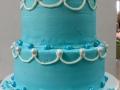 blue tiria tiered cake