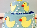 Duck Duckies Tiered Cake