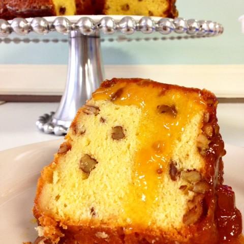 Peach Brandy Pound Cake (2)