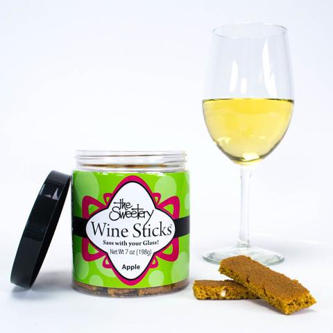 Wine Stick Pull up Banner Apple