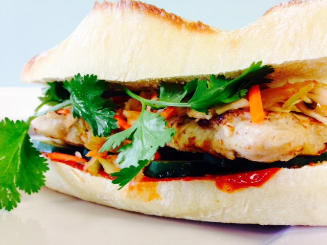 Korean BBQ Chicken Sandwich