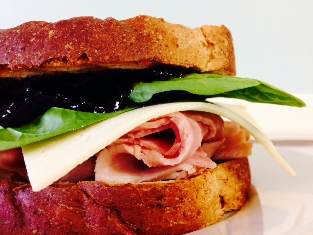 Light n' Blue Ham Sandwich