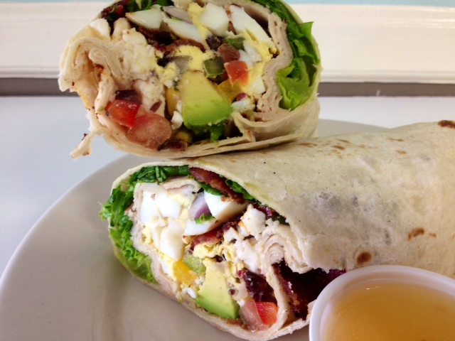 Southwest Cobb Salad Wrap