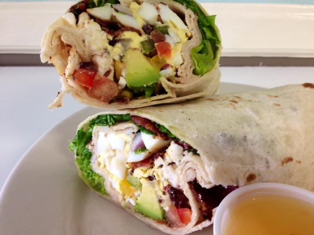 Southwest Cobb Salad Wrap