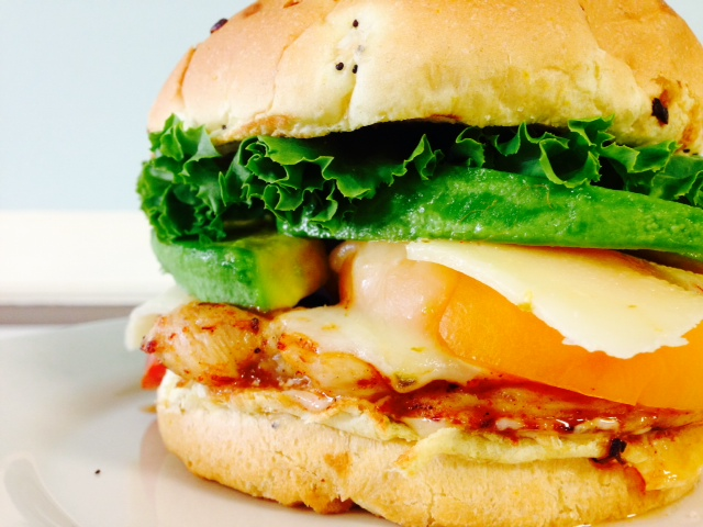 Chipotle Chicken and Avocado Sandwich
