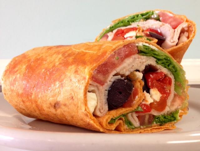 Deluxe Mediterranean Turkey Wrap