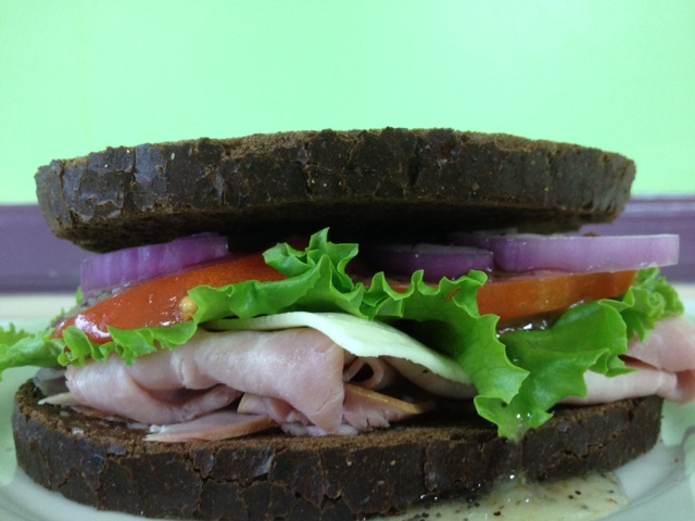 Simply Wonderful Ham Sandwich