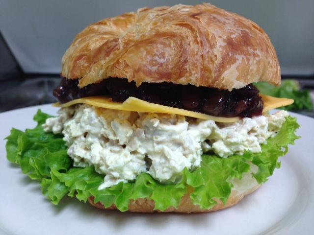 Holiaday Chicken Salad Sandwich