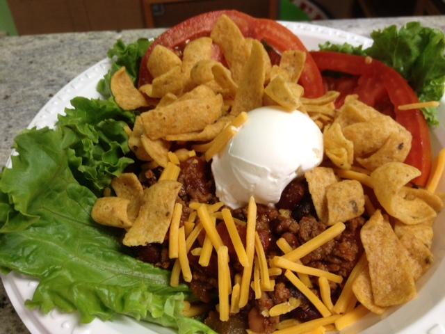 Chili Frito Salad