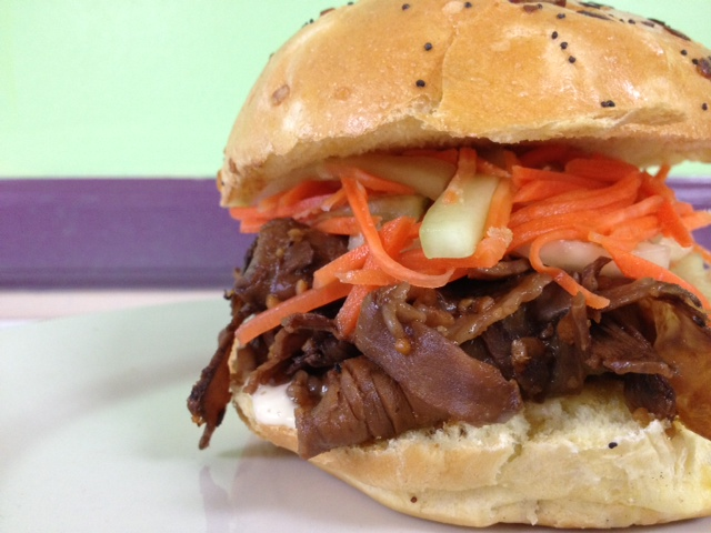 Asian Roast Beef Sandwich