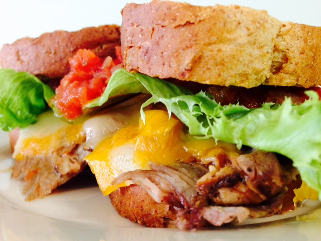 Southwest Roast Beef Sandwich