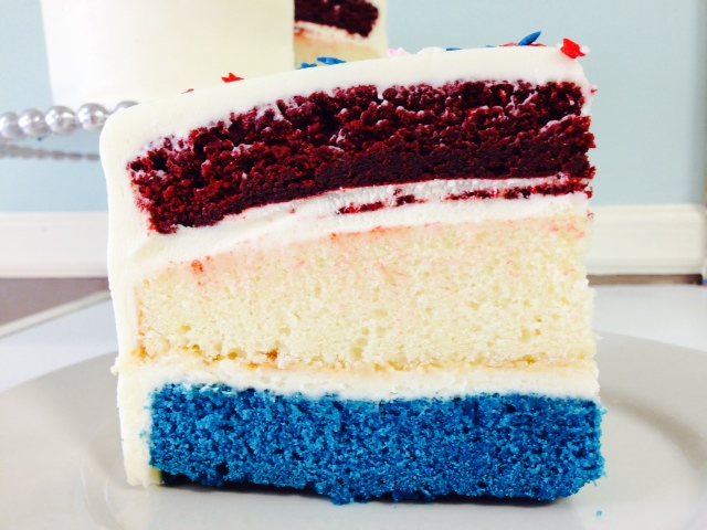 Red, White, and Blue Cake2