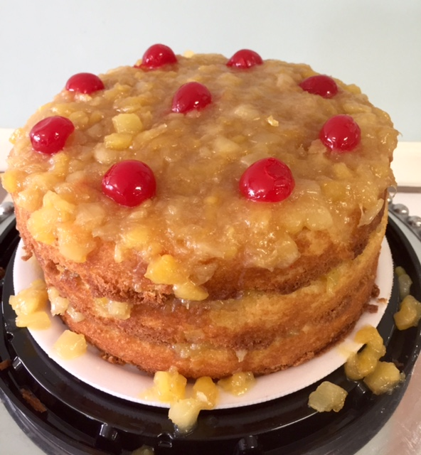 Pineapple Upside Down Layer1