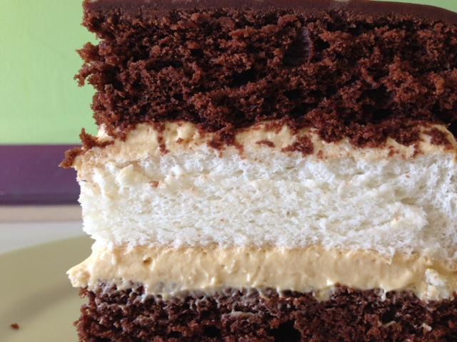 Heaven n' Hell Cake