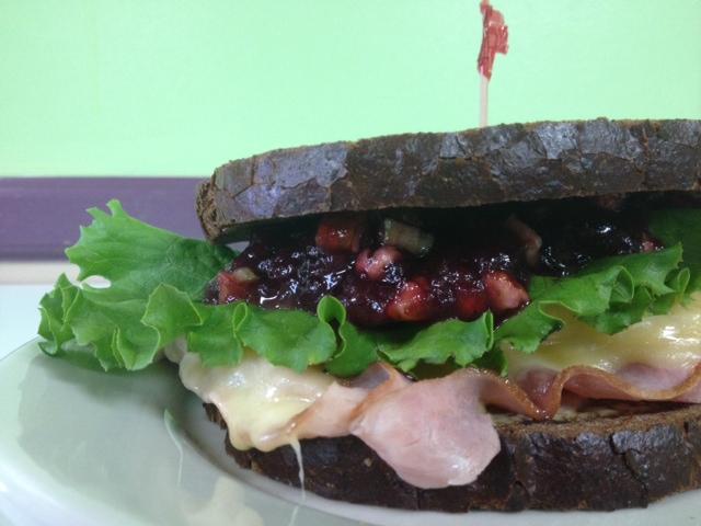 Holiday Ham Sandwich