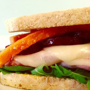 Sweets and Beets Ham Sandwich