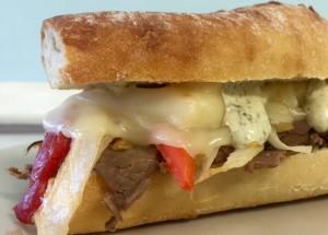 Zesty Steak Sandwich