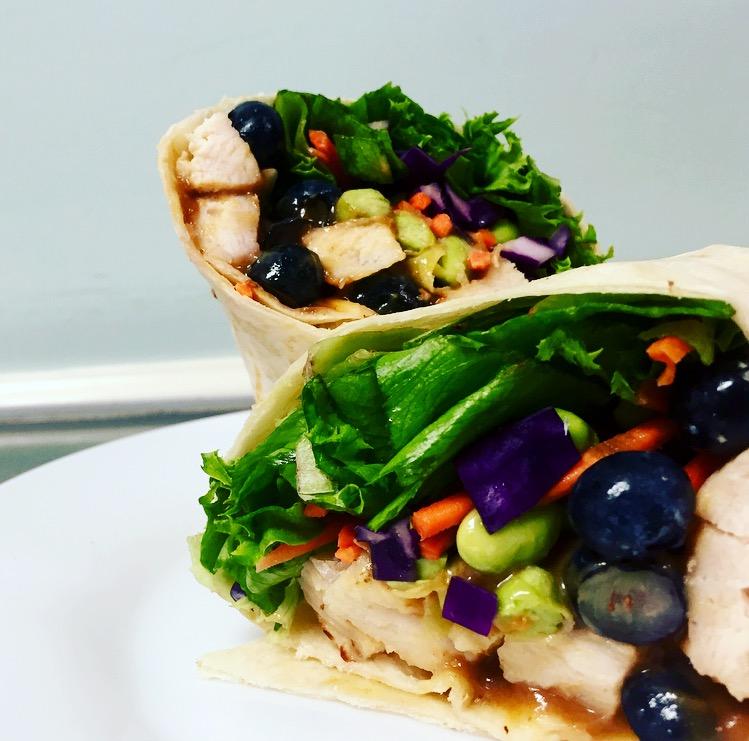 Thai Chicken Salad Wrap
