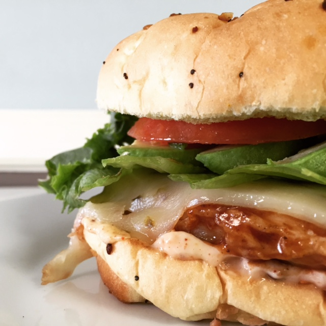 Chipotle Chicken and Avocado Sandwich (2)