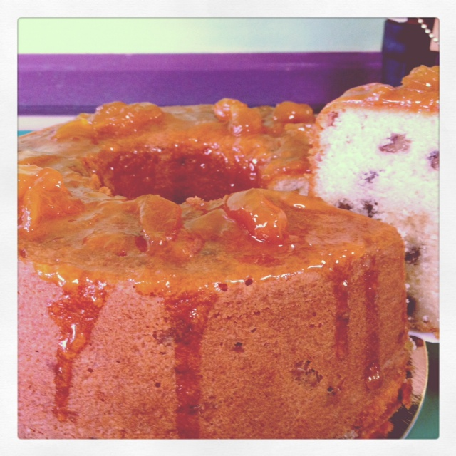 Peach Brandy Pound Cake