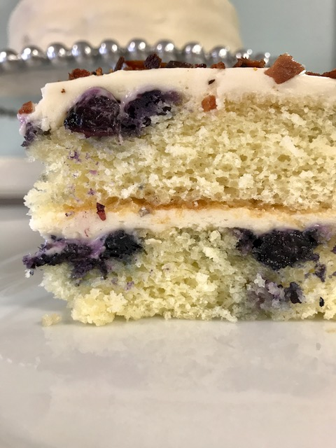 Blueberry Pancake Cake1