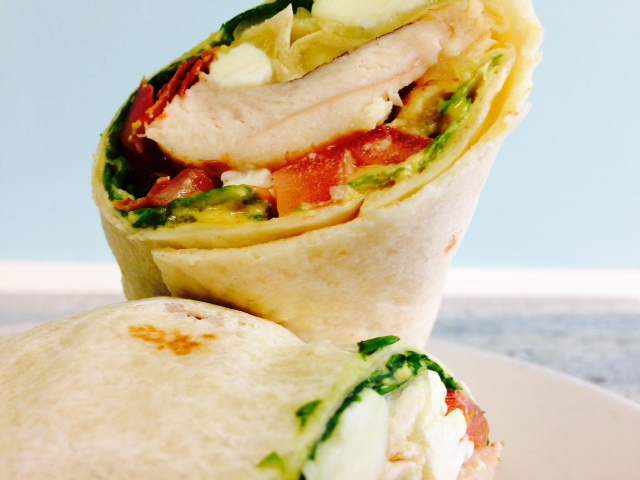 Blue Jack Chicken Wrap