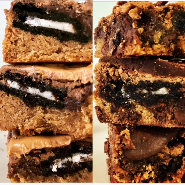 Blissful Brownie Bars