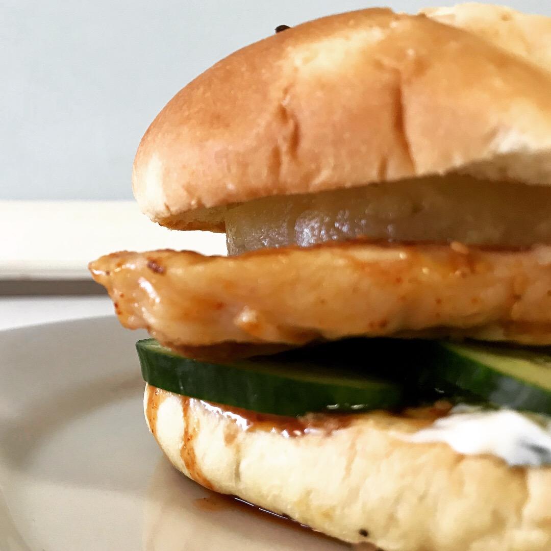 Korean Chicken Sandwich (2)