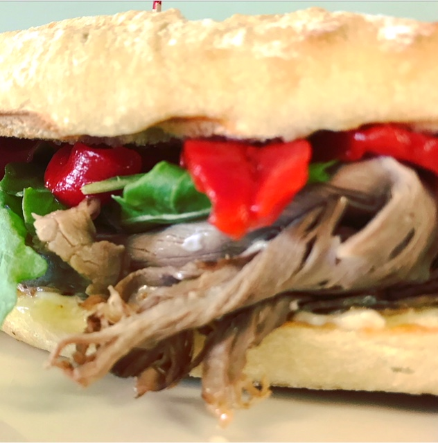 Sinfully Delicious Roast Beef Sandwich